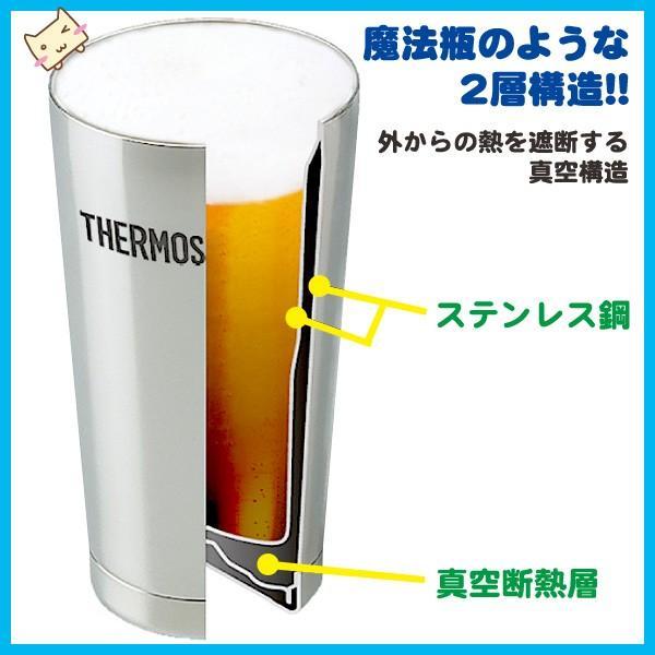 サーモス THERMOS 真空断熱タンブラー 400ml 単品 ステンレスタンブラー|honest|05