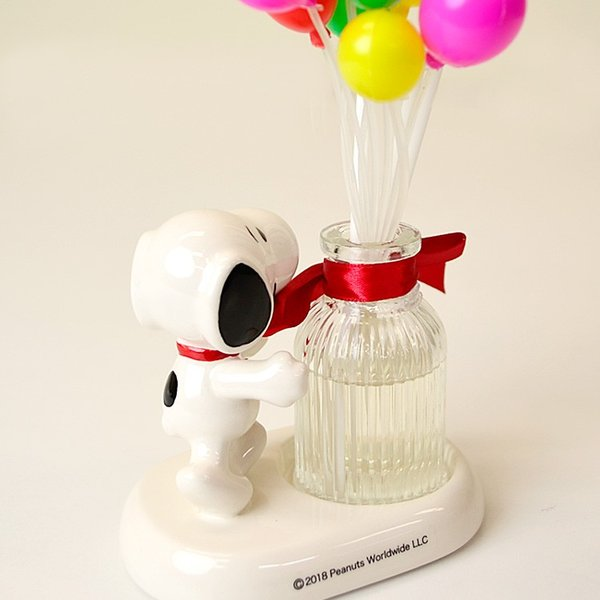 SNOOPY ディフューザー「バルーン」フローラルの香り ピーナッツ スヌーピー スティック アロマ クリスマス ギフト|honest|05