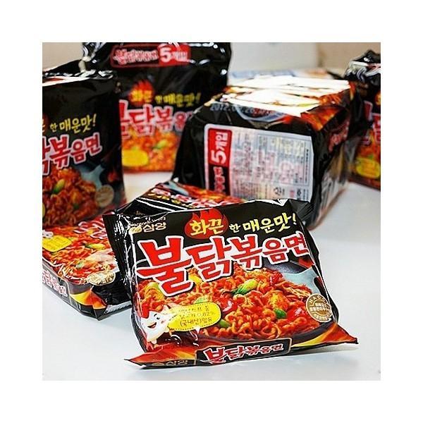 三養/サムヤン/激辛/ブルダック炒め麺/5袋入り/韓国食品/韓国ラーメン/インスタントラーメン/らーめん|honeybutter|05
