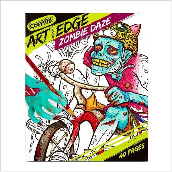 ぬりえ Crayola クレオラ ぬりえ 塗り絵 ゾンビ デイズ Zombie Daze