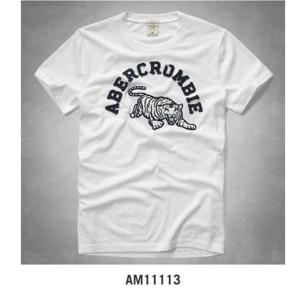 アバクロ Tシャツ アバクロンビー&フィッチ Abercrombie&Fitch グラフィック タイガー Tシャツ メンズ 半袖 AM11113 正規品 本物保証|honeyflavor|03