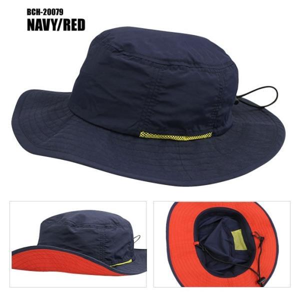 レインハット アドベンチャーハット サファリ 撥水加工 HAT 帽子 BCH-20078M メンズ レディース メール便送料無料|honeyflavor|04