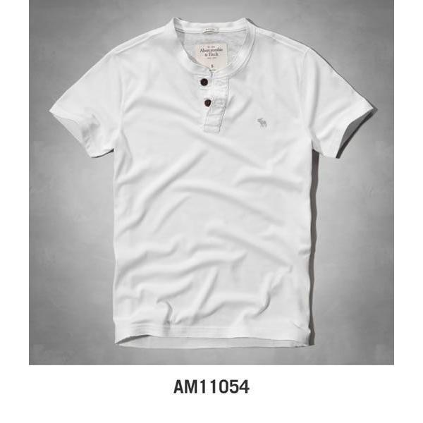 アバクロ Tシャツ アバクロンビー&フィッチ Abercrombie&Fitch ヘンリーネック Tシャツ メンズ 半袖 M-1154 正規品 本物保証 honeyflavor 03