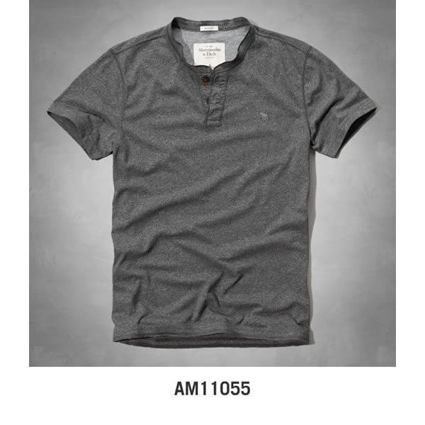 アバクロ Tシャツ アバクロンビー&フィッチ Abercrombie&Fitch ヘンリーネック Tシャツ メンズ 半袖 M-1154 正規品 本物保証 honeyflavor 04