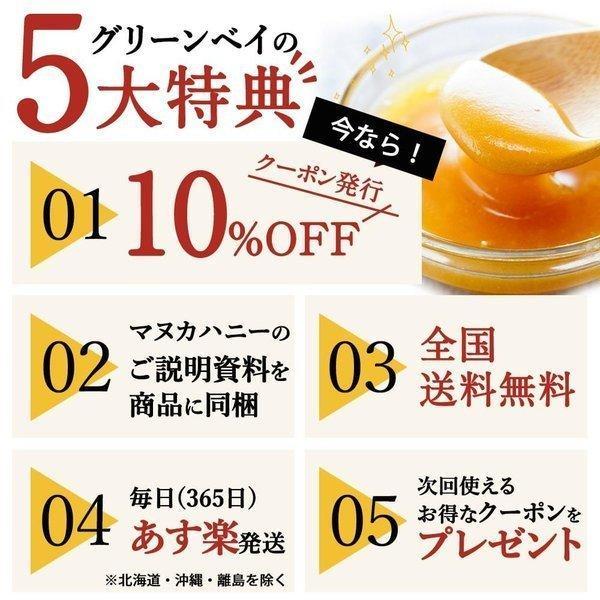 7月中旬発送予定 プレミアムマヌカハニー  UMF5+ はちみつ 送料無料 MGO83以上  初めての方に最適 honeygreenbay 17