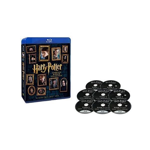 【新品・即納】ハリー・ポッター 8-Film ブルーレイセット (8枚組) [Blu-ray]