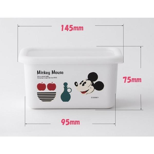 ホーロー 琺瑯 ほうろう Disney 富士ホーロー ディズニー深型角容器S ハニーウェア オーブン調理対応 ホーロー容器 キッチン用品 安心のメーカー直販 disney_y|honeyware|02