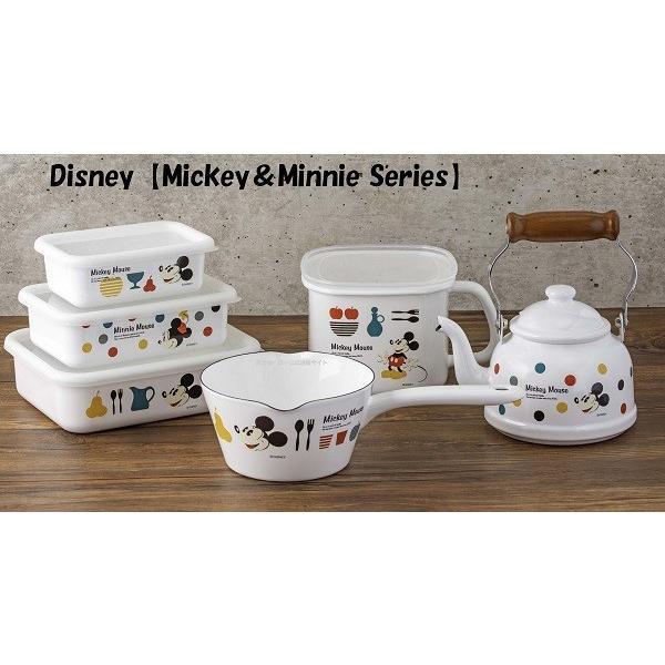 ホーロー 琺瑯 ほうろう Disney 富士ホーロー ディズニー深型角容器S ハニーウェア オーブン調理対応 ホーロー容器 キッチン用品 安心のメーカー直販 disney_y|honeyware|03