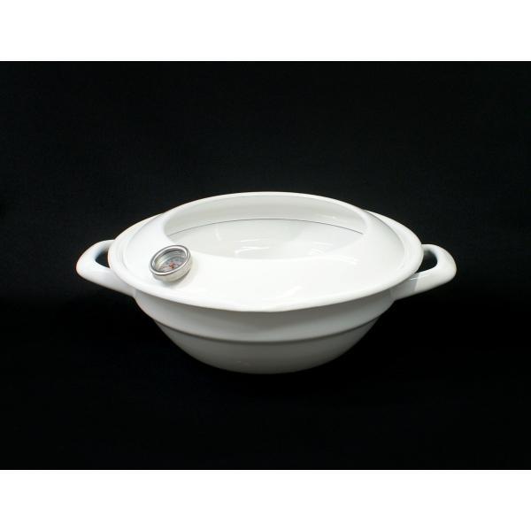 クリスティーナ 24cm 天ぷら鍋(温度計付)|honeyware|02