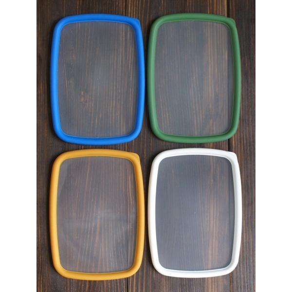 浅型角容器Lサイズ用 フタ|honeyware