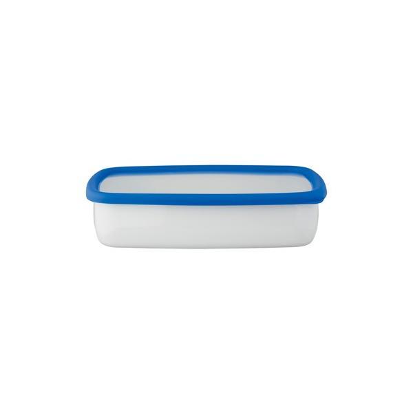 ホーロー 琺瑯 ほうろう 保存容器 富士ホーロー キッチン雑貨 Konte コンテ オーブン調理可能 ホーロー容器 浅型角容器LL 安心のメーカー直販|honeyware|02