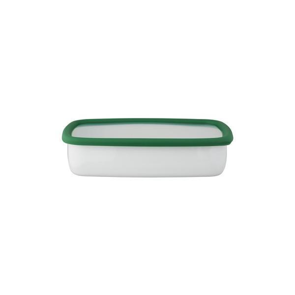 ホーロー 琺瑯 ほうろう 保存容器 富士ホーロー キッチン雑貨 Konte コンテ オーブン調理可能 ホーロー容器 浅型角容器LL 安心のメーカー直販|honeyware|03