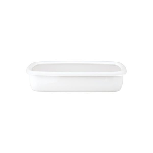 ホーロー 琺瑯 ほうろう 保存容器 富士ホーロー キッチン雑貨 Konte コンテ オーブン調理可能 ホーロー容器 浅型角容器LL 安心のメーカー直販|honeyware|04