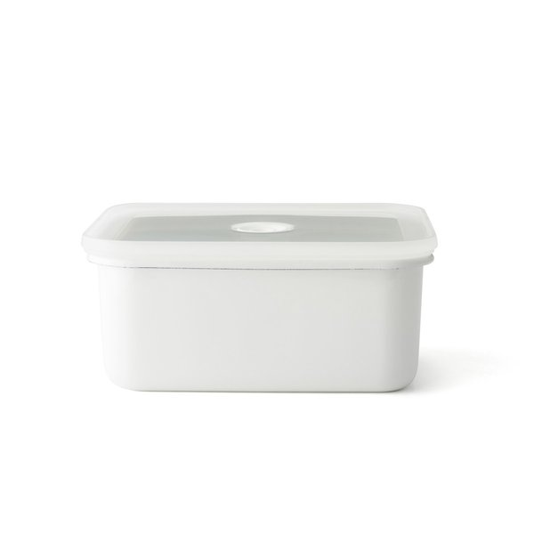 ホーロー 琺瑯 ほうろう ヴィードシリーズ 真空琺瑯容器 深型角容器 L キッチン ハニーウェア 富士ホーロー 安心のメーカー直販|honeyware