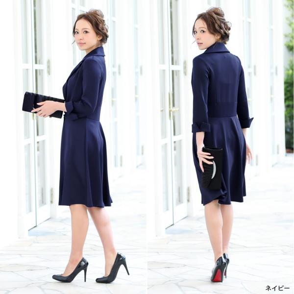 パーティードレス ワンピース ドレス 20代 30代 結婚式 M L LL XL レッド ネイビー グリーン ブラック 大きいサイズ hongkongmadam 17