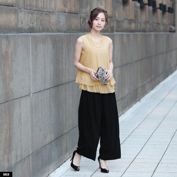 パーティードレス パンツドレス パンツスタイル ドレス 20代 30代 結婚式 二次会 大きいサイズ M/L/LL/3L ネイビー/ブラック/ベージュ hongkongmadam 17