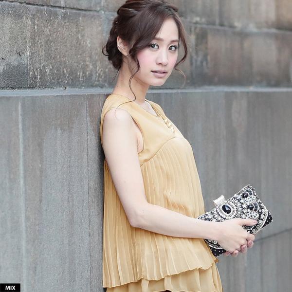 パーティードレス パンツドレス パンツスタイル ドレス 20代 30代 結婚式 二次会 大きいサイズ M/L/LL/3L ネイビー/ブラック/ベージュ hongkongmadam 20