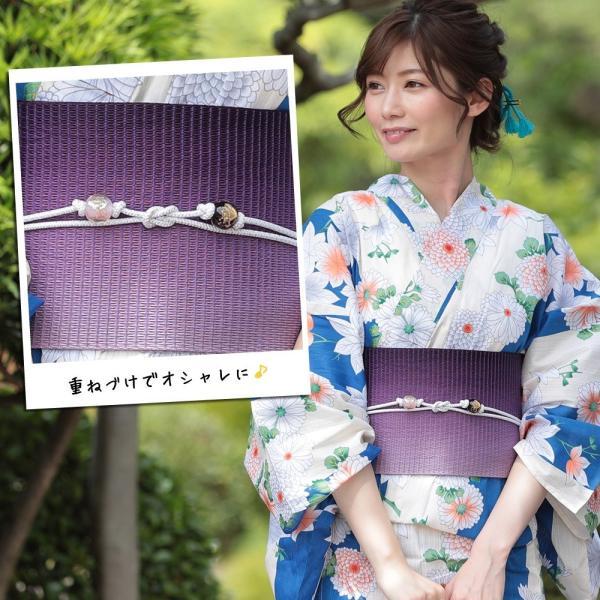 帯飾り選べる 正絹紐つきガラス製とんぼ玉飾り(d1258)帯紐 浴衣 レディース 小物 単品 hongkongmadam 14
