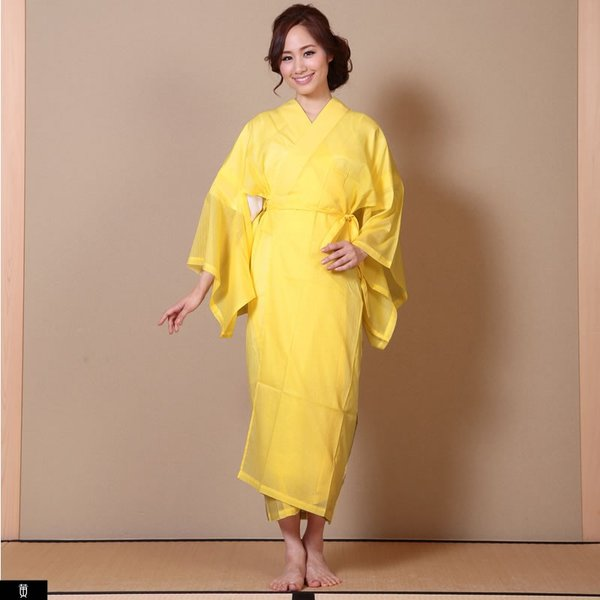 浴衣 夏着物用インナー レディース 襦袢(d1263) ユカタ ゆかた 和装 和服 女性 長じゅばん 夏 下着 肌着 衣装|hongkongmadam|11