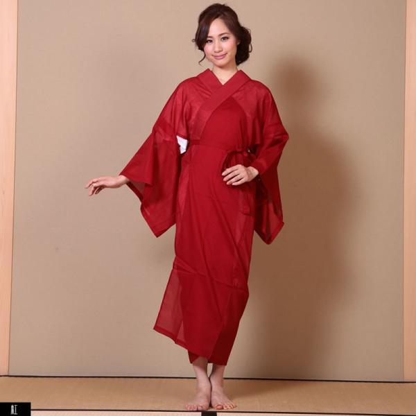 浴衣 夏着物用インナー レディース 襦袢(d1263) ユカタ ゆかた 和装 和服 女性 長じゅばん 夏 下着 肌着 衣装|hongkongmadam|08