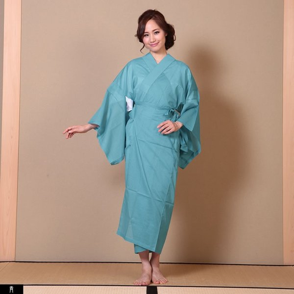 浴衣 夏着物用インナー レディース 襦袢(d1263) ユカタ ゆかた 和装 和服 女性 長じゅばん 夏 下着 肌着 衣装|hongkongmadam|10