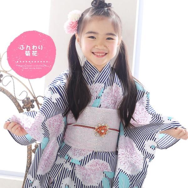 浴衣 子供 女の子 選べる キュートな 11柄 レトロ フラット キッズ 浴衣|hongkongmadam|18