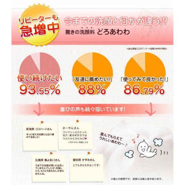 どろあわわ 専用泡立てネット付属 110g どろ豆乳石鹸(クリックポスト限定送料無料)|hongo-company|08