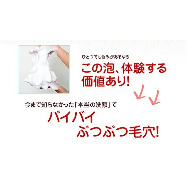 どろあわわ 専用泡立てネット付属 110g どろ豆乳石鹸(クリックポスト限定送料無料)|hongo-company|09