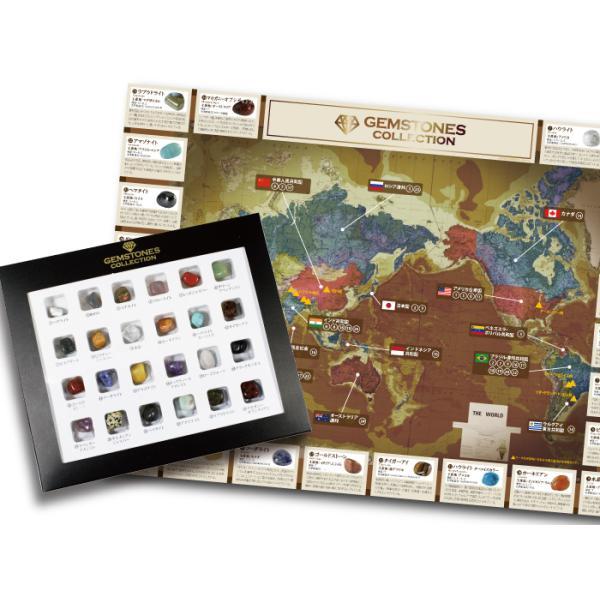 触れる図鑑 世界の石コレクション 触れる図鑑世界の石コレクション 知育玩具   (S:0040)