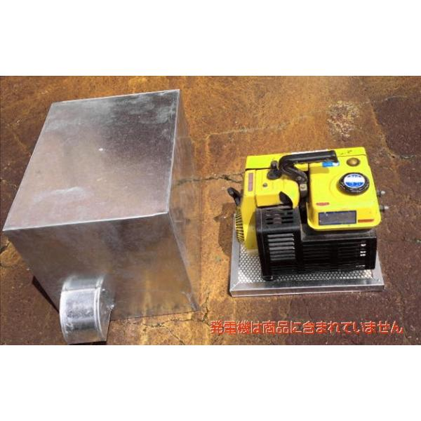 発電機・コンプレッサー等に【消音ボックス製作】縦・横・長さ3辺の計160cmまで<商品代・送料追加で160cmオーバーも製作可能>|hoonya-com