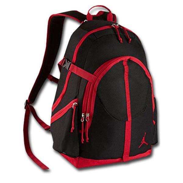 1cae69bb7221 JB002 Jordan Jumpman Backpack ジョーダン リュックサック 黒赤の画像