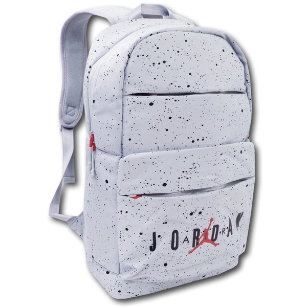 e7b0d91eb737 JB993 Air Jordan Backpack ジョーダン リュックサック 灰黒赤の画像