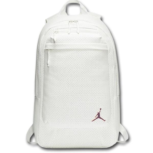 41c3763c73cd JB994 Air Jordan Legacy Backpack ジョーダン リュックサック 合皮 白ローズゴールドの画像