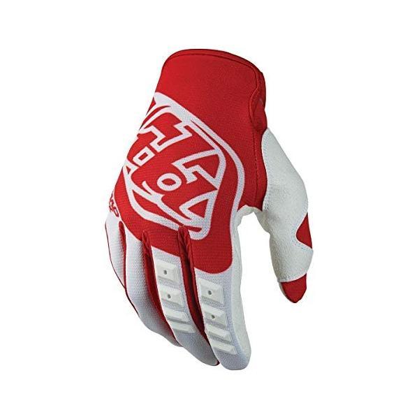 Troy Lee Designs GPメンズオフロードバイク手袋 迅速な対応で商品をお届け致します レッド [再販ご予約限定送料無料]
