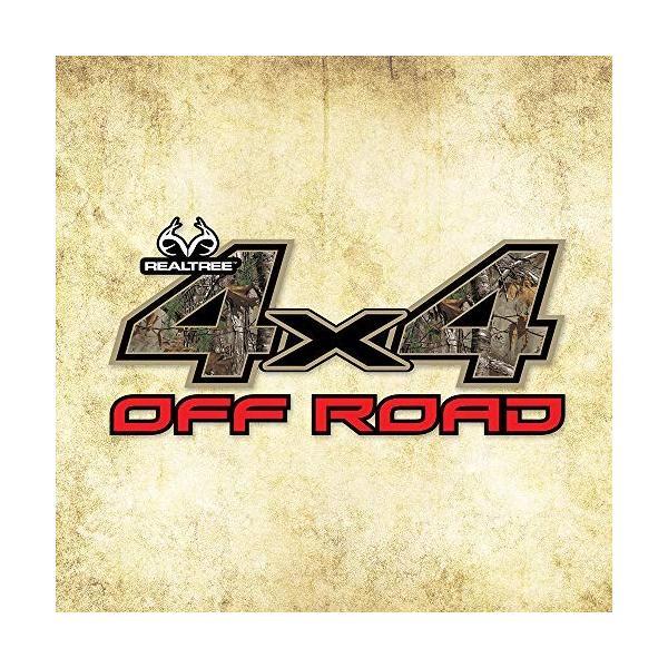 高級な リアルツリーカモグラフィック4 選択 x 4 Roadリアルツリー迷彩デカール Off