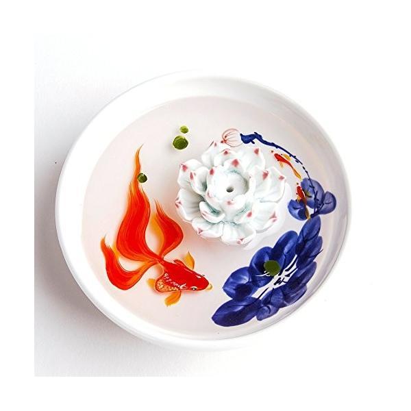 お香立て 全商品オープニング価格 お香たて 香の器 内祝い 香皿,陶磁器 白 お香を焚いて