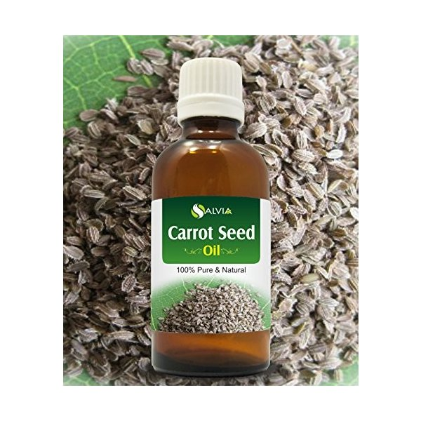 CARROT SEED OIL ファクトリーアウトレット 受賞店 100% NATURAL PURE 50ML OILS UNDILUTED UNCUT ESSENTIAL