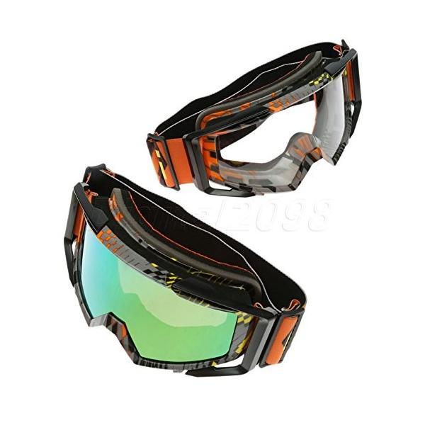 NEW ARRIVAL モトクロスダートバイク ☆国内最安値に挑戦☆ atvゴーグル抗uvメガネオートバイオフロードレーシングスキーサーフィンスノーボード防風メガネ-2