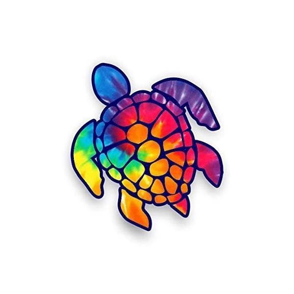 セットアップ rainbow !超美品再入荷品質至上! tie dye - sticker Sea Decal Turtle