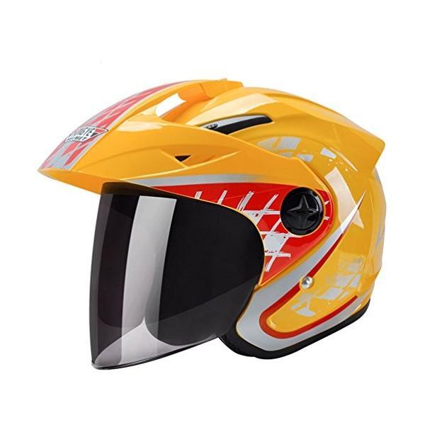 バイク用ヘルメット 半帽 ジェット ディスカウント 原付 期間限定で特別価格 スモークシールド 春夏秋用 アンチショツク 通気吸汗 UVカット 日焼け止め レディース メンズ