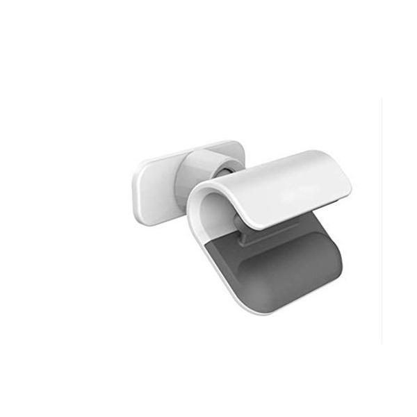 Nekovan 通販 正規品 自動車用品ブラックシンプルペースト型回転式自動車電話ホルダー 色 : ホワイト