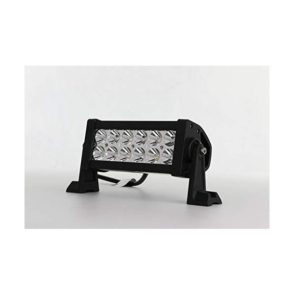 LEDバルブ 代引き不可 LEDライトバー7.5インチ36W 2250LMオフロードLEDスポットライト ATV 激安通販 UTV