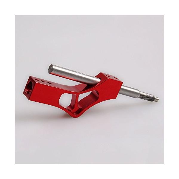 当店一番人気 1998-2001ホンダシフトノブに適用カーユニバーサルコンバージョンパーツシフトレバーシフトレバー調整可能な伸縮式シフトレバー,Red ショップ