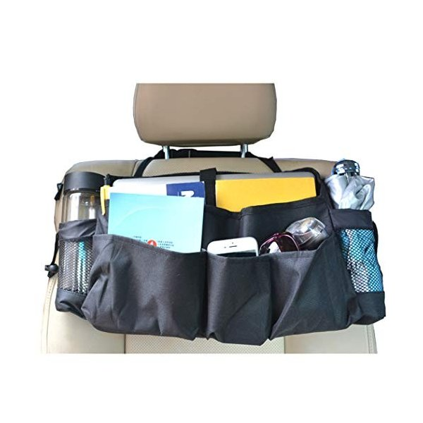 車のフロントシートオーガナイザー 助手席オーガナイザー シートオーガナイザー収納バッグ用カートラベルオフィスアクセサリー 高級な 当店限定販売