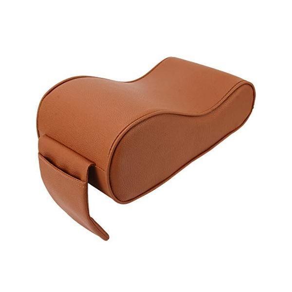 YMF 大放出セール 通用車PUレザーとメモリフォームラップアームレストボックス通気性の車のアームレストボックスマットホルダーストレージバッグ 色 出荷 :