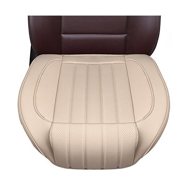 HONCENMAX 激安特価品 車用 シートカバー セットカバー 座布団 シートクッション PUレザー カー用品 座席シート 3D構造 滑り止め 全品最安値に挑戦 カーシート