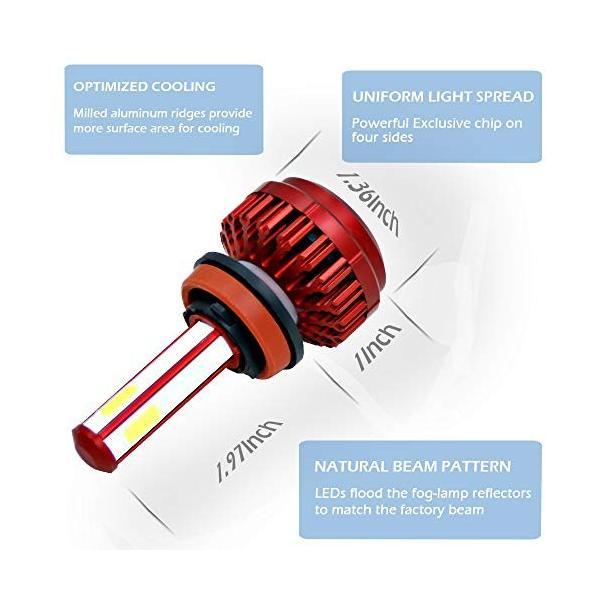 5☆大好評 H11 LEDヘッドライト電球車統合変換キットスーパーブライトヘッドライト80W 限定価格セール 6000K