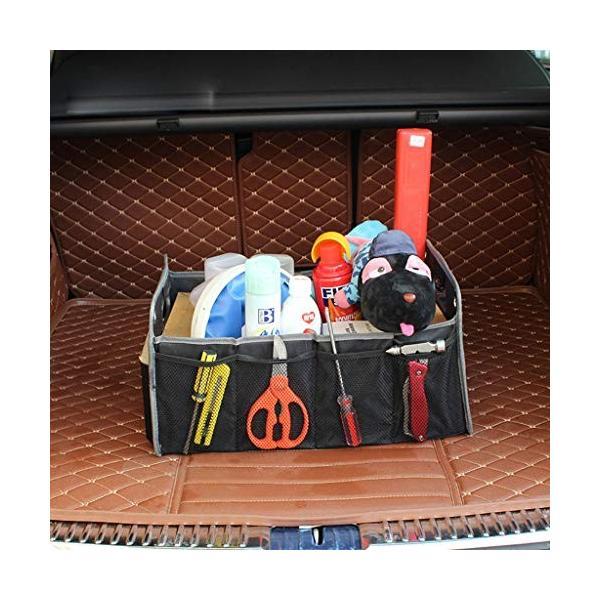 車用収納ボックス トランク 収納 折り畳み式 収納ケース メーカー公式ショップ 車用ポッケト シートバックポケット 使用便利 大容量 後部座席収納 防水 期間限定特別価格