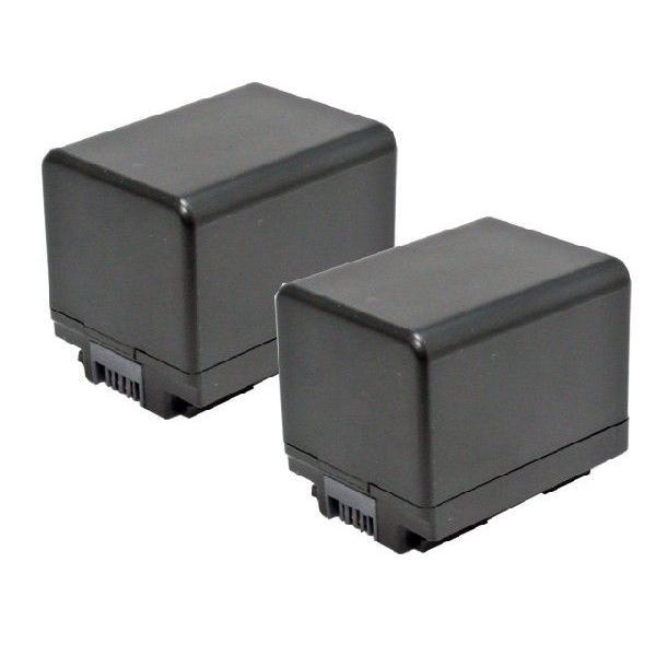 2個セット キャノン(Canon) BP-727 互換バッテリー 残量表示対応