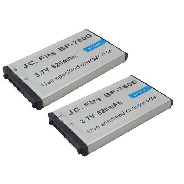 2個セット 京セラ(Kyocera) BP-780S 互換バッテリー